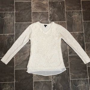 Women's sequined sweater
